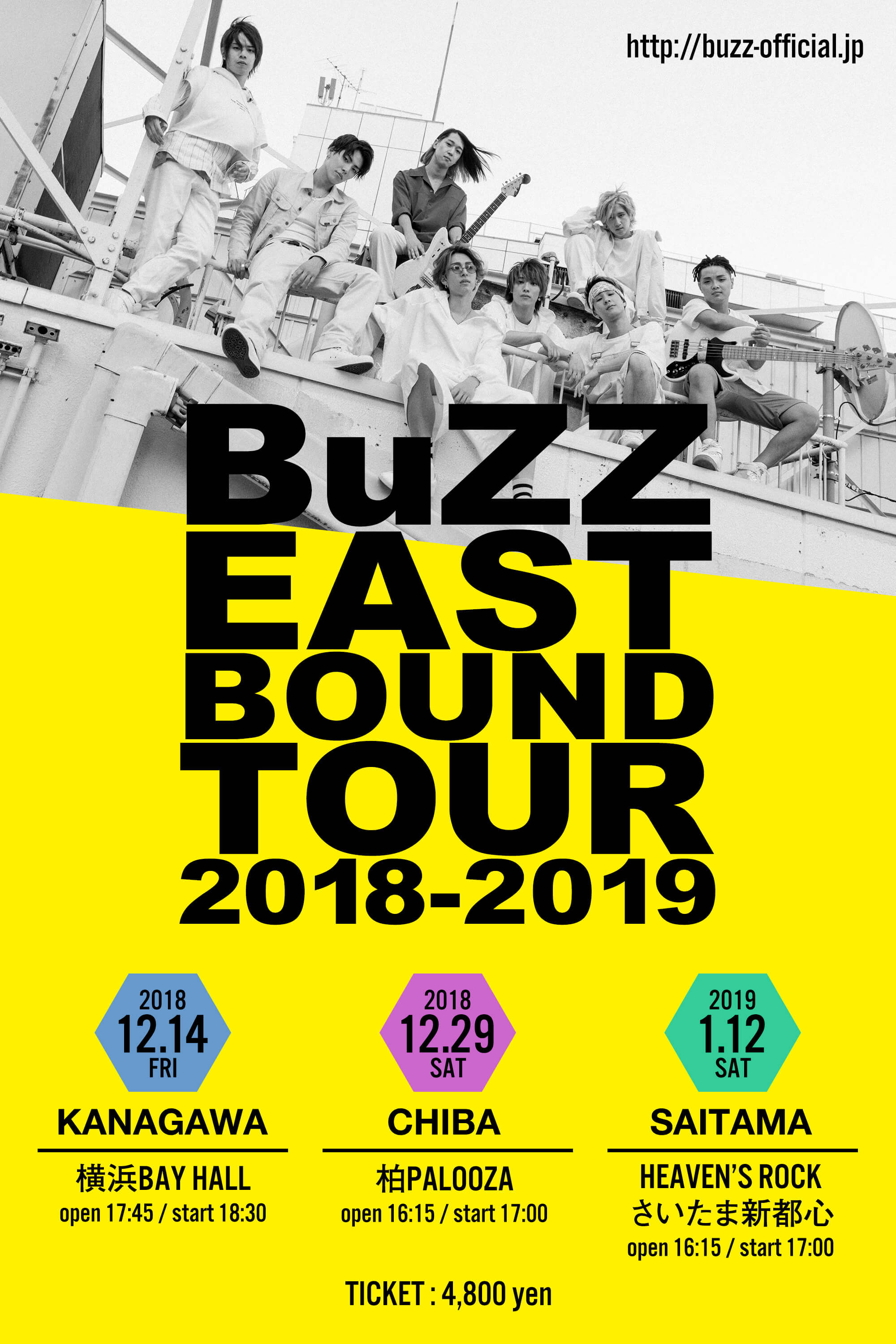 BuZZ - BuZZ EAST BOUND TOUR 2018-2019